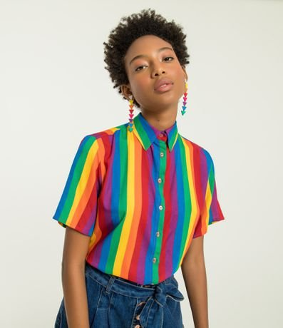 d0db27d437 Camisas femininas  encontre o modelo perfeito para você - Renner