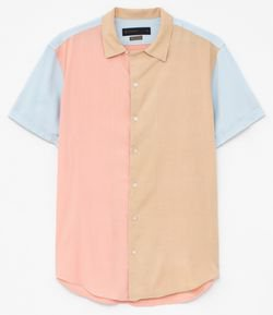 Camisa Color Block