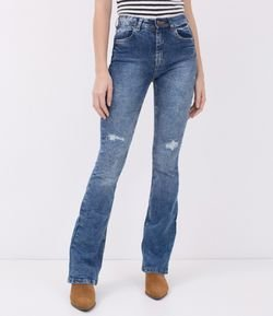 Calca Jeans Boot Cut