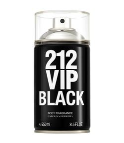 Body Spray 212 Vip Men Black