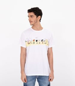 Camiseta Estampa do Snoopy