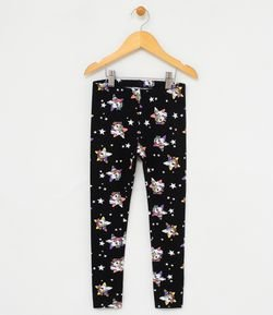Calça Legging Infantil Estampas My Little Pony - Tam 4 a 12 anos