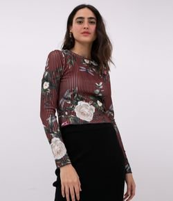 Blusa Lineal Floral