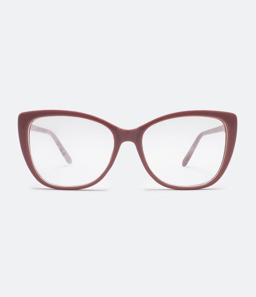 e52fc7ab6 Armação de Óculos Feminina Gateada   Menor preço com cupom
