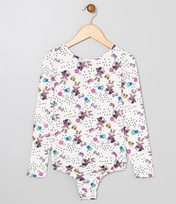 Body Infantil Estampado Lol - Tam 4 a 12
