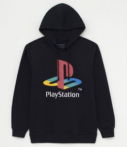 Blusão Moletom Estampa Playstation
