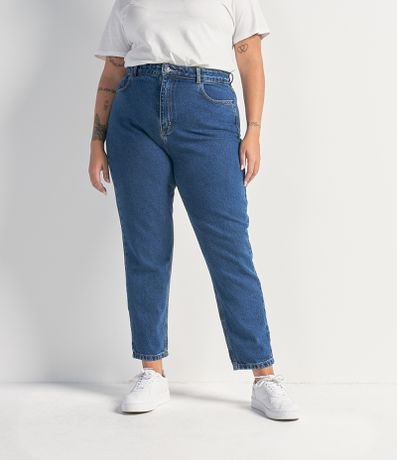 Calça Jeans Mom Curve & Plus Size