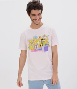 Camiseta Estampa Personagens Simpsons