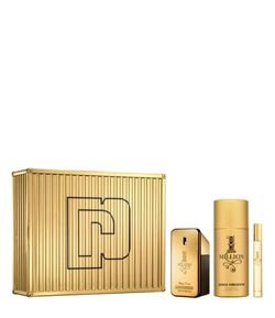Kit Perfume Paco Rabanne One Million Masculino Eau de Toilette + Desodorante + Travel Spray