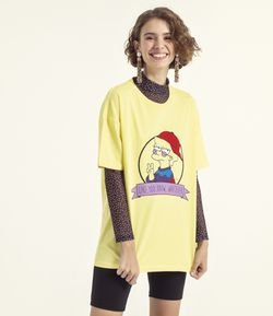Blusa Estampa Lisa Simpsons