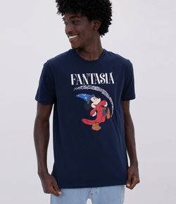 Camiseta Estampa Mickey Fantasia