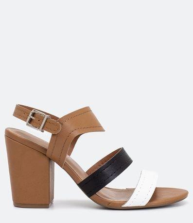 Sandália com Tiras Via Marte