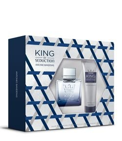 Kit Perfume Antonio Banderas King of Seduction Masculino Eau de Toilette + Pós-Barba