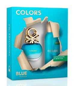 Kit Benetton Colors Blue Eau de Toilette + Desodorante
