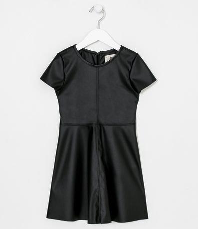 Vestido Infantil Liso - Tam 5 a 14 anos