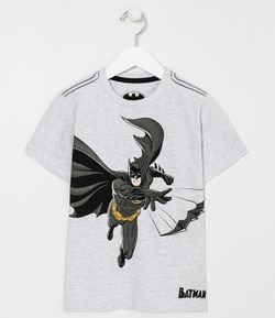 Camiseta Infantil Estampa do Batman - Tam 2 a 10 anos