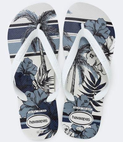 Chinelo Masculino Estampa Aloha Havaianas