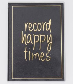 Caderno com Estampa Record Happy Times