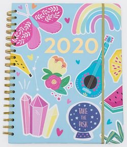 Planner 2020 Estampa Take The Risk