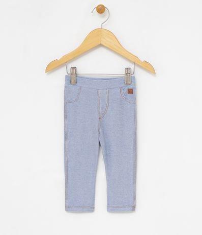 Calça Infantil Legging Lisa - Tam 0 a 18 meses