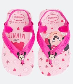 Chinelo Infantil New Baby Minnie Havaianas - Tam 17 ao 24