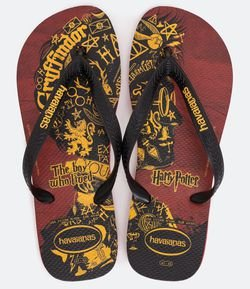 Chinelo Estampa Harry Potter