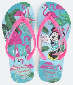 Chinelo Infantil Disney Cool Minnie Havaianas - Tam 23 ao 24