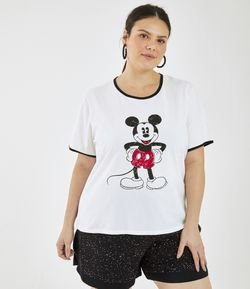 Blusa Mickey Mouse Curve & Plus Size