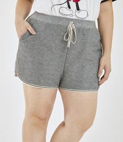 Short Runner em Moletom Curve & Plus Size