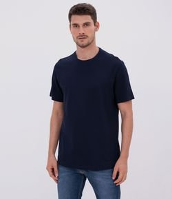 Camiseta Regular Fit Texturizada