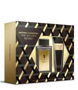 Kit Antonio Banderas The Golden Secret Masculino Eau de Toilette + Pós Barba