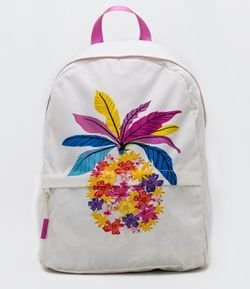 Mochila Estampa Anana Morena Tropical