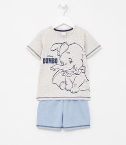 Pijama Infantil Estampa do Dumbo - Tam 1 a 4 anos