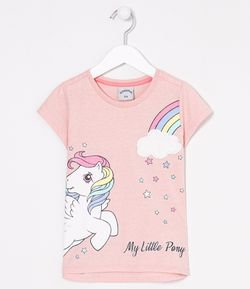 Blusa Infantil Estampa My Little Pony - Tam 4 a 12 anos