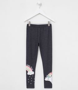 Calça Infantil Legging Estampa My Little Pony - Tam 4 a 12 anos