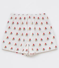 Cueca Samba Canção Estampa Playstation