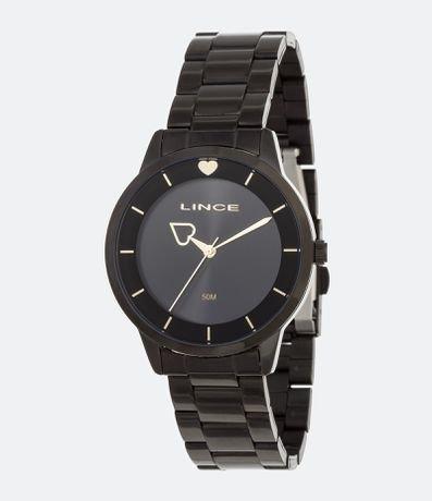 Kit Relógio Feminino Lince LRN4572L-KI16P1PX Analógico 5ATM + Conjunto Semijóia
