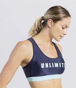 Top Esportivo Estampa Unlimited