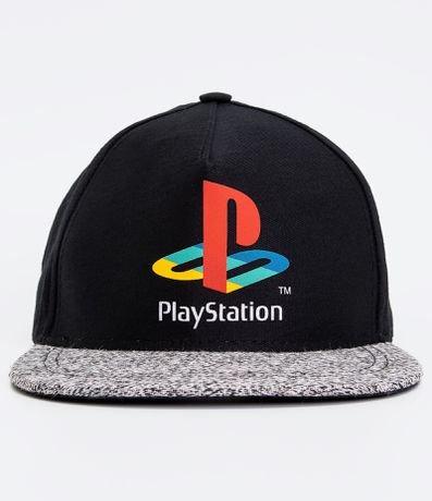 Boné Playstation Infantil - Tam U