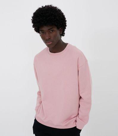 Blusão Moletom Básico com Fleece