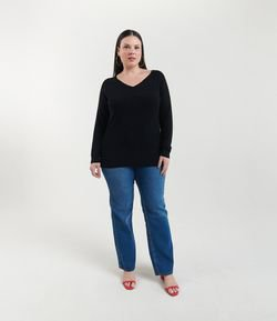 Blusa Lisa Curve & Plus Size