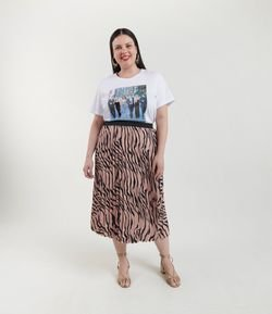Blusa com Estampa Friends Curve & Plus Size
