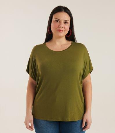 Blusa Básica Sem Cava Curve & Plus Size