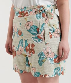 Short Estampado Clochard Curve & Plus Size