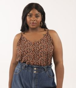 Regata Animal Print Curve & Plus Size