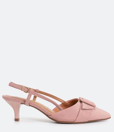 Sapato Feminino Chanel com Fivela Forrada Vizzano