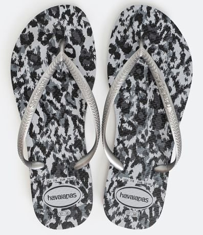Chinelo Slim Animals Havaianas