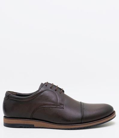 Sapato Masculino Casual em Couro