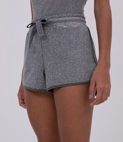 Short Metalizado Fit Runner