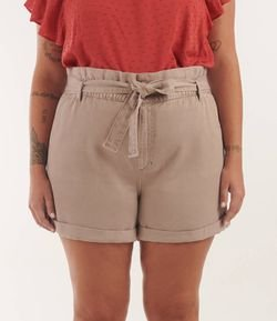 Short em Sarja Clochart Curve & Plus Size